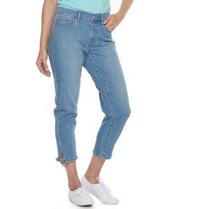 Levi's classic crop jeans size 8